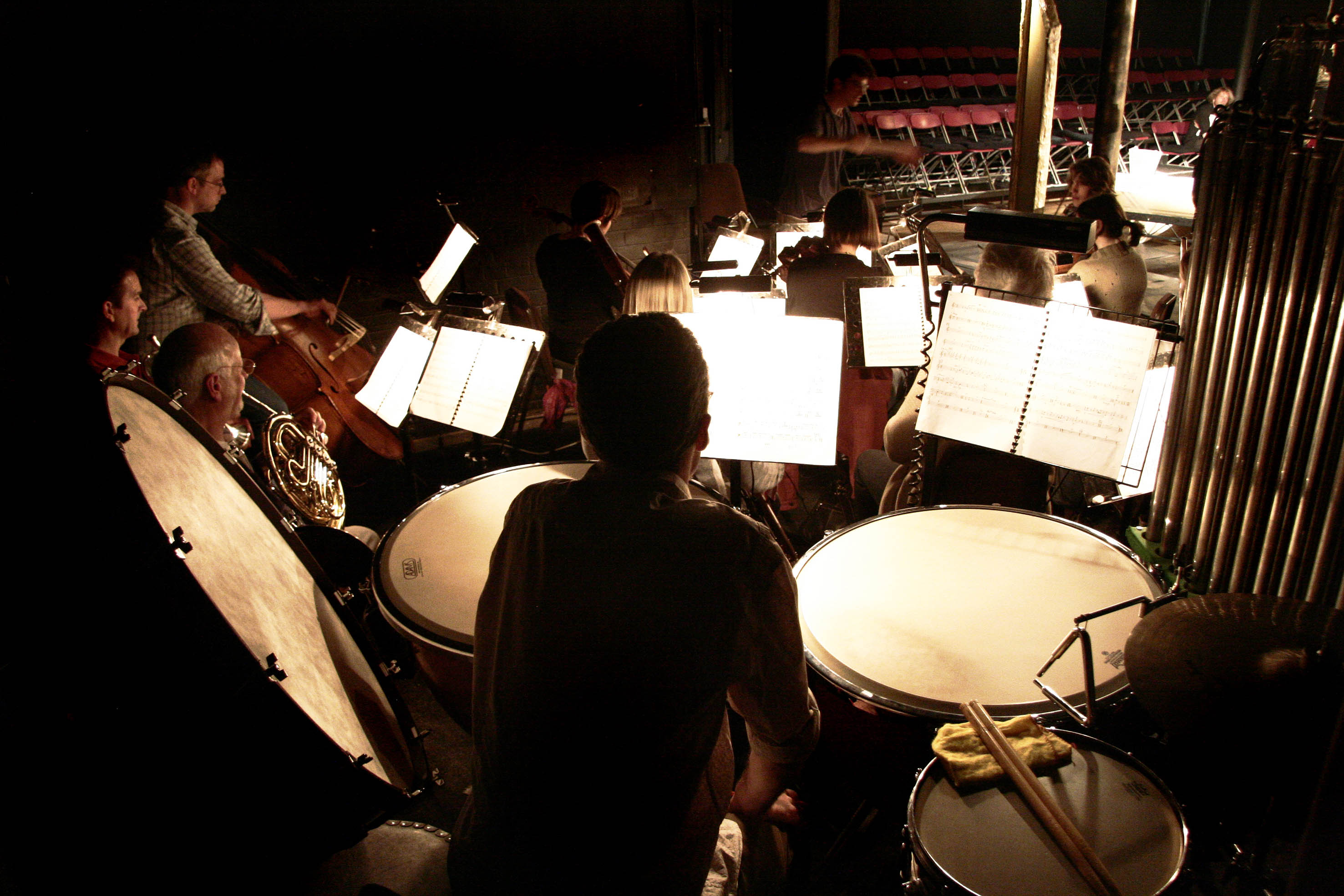 Rehearsing Tosca at The Tobacco Factory Theatre, 2008