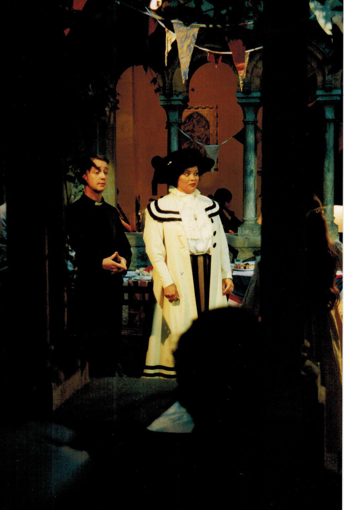 Simone-Sauphanor-and-Eamon-Dougan-in-Albert-Herring,-Iford,-2002